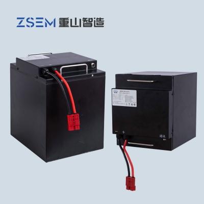 模块化并联功能48V52Ah磷酸铁锂电池PACK组