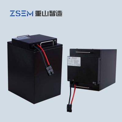 模块化并联功能 60V52Ah磷酸铁锂电池PACK组